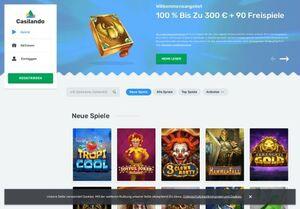 Casilando Casino in schnellem Überblick